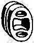 Резиновые полоски системы выпуска BOSAL 255-041 - изображение