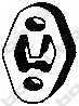 Резиновые полоски системы выпуска BOSAL 255-059 - изображение