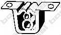 Резиновые полоски системы выпуска BOSAL 255-077 - изображение