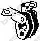 Резиновые полоски системы выпуска BOSAL 255-084 - изображение
