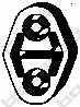 Резиновые полоски системы выпуска BOSAL 255-085 - изображение