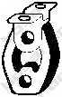 Резиновые полоски системы выпуска BOSAL 255-146 - изображение