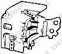 Резиновые полоски системы выпуска BOSAL 255-204 - изображение