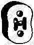 Резиновые полоски системы выпуска BOSAL 255-314 - изображение