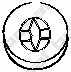 Резиновые полоски системы выпуска BOSAL 255-317 - изображение