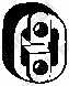 Резиновые полоски системы выпуска BOSAL 255-460 - изображение