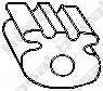 Резиновые полоски системы выпуска BOSAL 255-837 - изображение