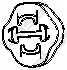 Резиновые полоски системы выпуска BOSAL 255-853 - изображение