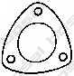 Прокладка выхлопной трубы BOSAL 256-048 - изображение
