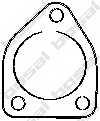 Прокладка выхлопной трубы BOSAL 256-053 - изображение