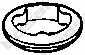 Прокладка выхлопной трубы BOSAL 256-937 - изображение