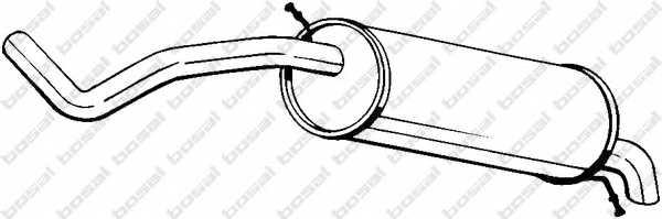 Глушитель выхлопных газов конечный BOSAL 278-039 - изображение