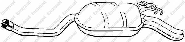 Глушитель выхлопных газов конечный BOSAL 278-195 - изображение