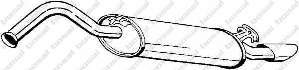 Глушитель выхлопных газов конечный BOSAL 278-971 - изображение