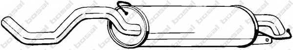 Глушитель выхлопных газов конечный BOSAL 279-399 - изображение