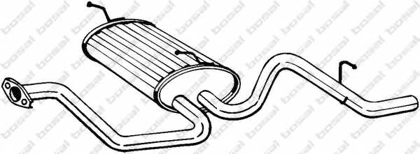 Глушитель выхлопных газов конечный BOSAL 281-385 - изображение