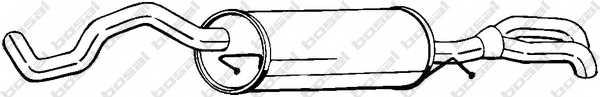 Глушитель выхлопных газов конечный BOSAL 282-365 - изображение