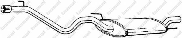 Глушитель выхлопных газов конечный BOSAL 282-373 - изображение
