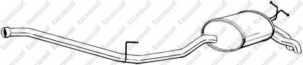 Глушитель выхлопных газов конечный BOSAL 287-087 - изображение