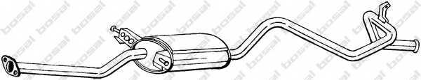 Глушитель выхлопных газов конечный BOSAL 288-217 - изображение