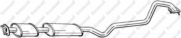 Средний глушитель выхлопных газов BOSAL 288-389 - изображение
