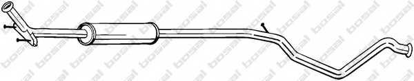 Средний глушитель выхлопных газов BOSAL 289-469 - изображение