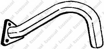 Труба выхлопного газа BOSAL 330-251 - изображение