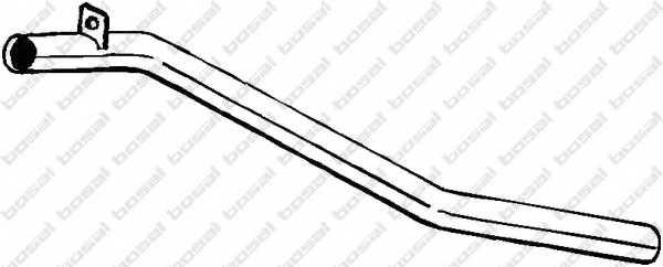 Труба выхлопного газа BOSAL 380-155 - изображение