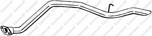 Труба выхлопного газа BOSAL 436-293 - изображение