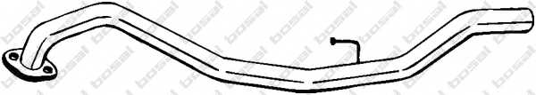 Труба выхлопного газа BOSAL 440-095 - изображение