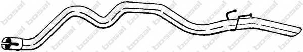 Труба выхлопного газа BOSAL 489-261 - изображение