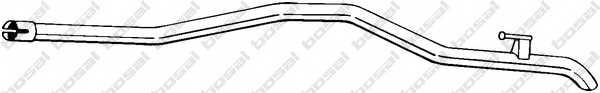 Труба выхлопного газа BOSAL 517-163 - изображение