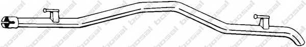 Труба выхлопного газа BOSAL 521-771 - изображение