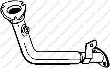 Труба выхлопного газа BOSAL 740-363 - изображение
