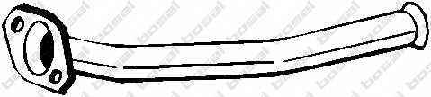 Труба выхлопного газа BOSAL 741-017 - изображение