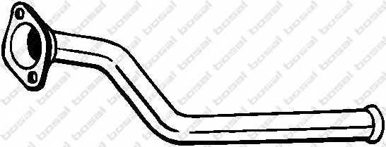 Труба выхлопного газа BOSAL 750-079 - изображение