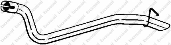 Труба выхлопного газа BOSAL 770-431 - изображение