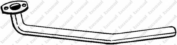 Труба выхлопного газа BOSAL 785-309 - изображение