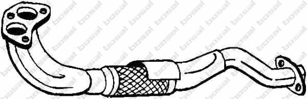 Труба выхлопного газа BOSAL 787-135 - изображение