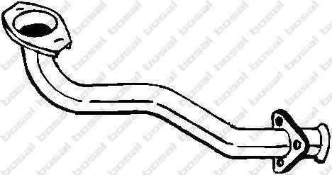 Труба выхлопного газа BOSAL 787-449 - изображение