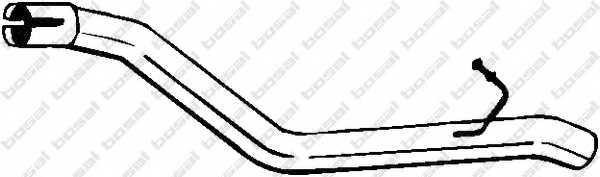 Труба выхлопного газа BOSAL 801-177 - изображение