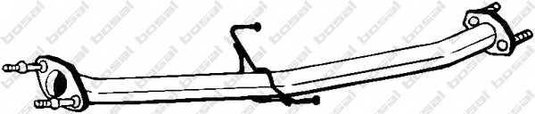 Труба выхлопного газа BOSAL 803-001 - изображение