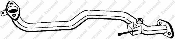 Труба выхлопного газа BOSAL 803-009 - изображение