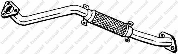 Труба выхлопного газа BOSAL 803-017 - изображение