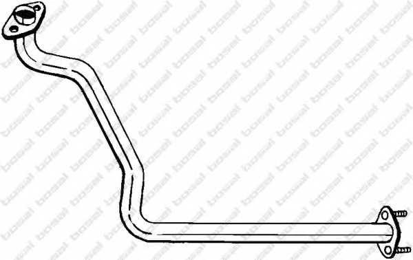 Труба выхлопного газа BOSAL 813-371 - изображение