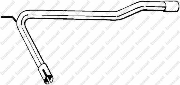 Труба выхлопного газа BOSAL 843-737 - изображение