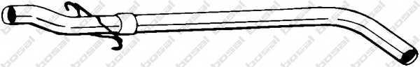 Труба выхлопного газа BOSAL 845-099 - изображение