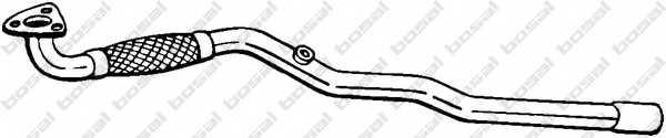Труба выхлопного газа BOSAL 852-455 - изображение