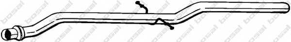 Труба выхлопного газа BOSAL 870-947 - изображение