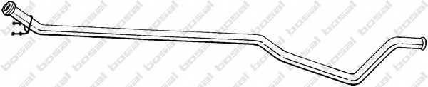Труба выхлопного газа BOSAL 952-155 - изображение